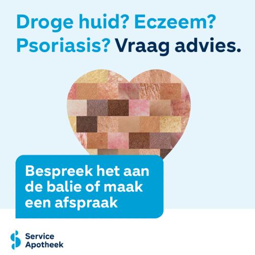 Droge huid, eczeem of psoriasis?