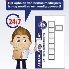 Apotheek Sasburg is per 1/1/2021 gesloten op zaterdag