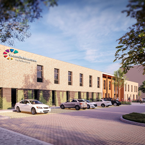 Verhuizing van apotheek naar het nieuwe gezondheidscentrum op de Bellestein