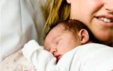 Last bij het zitten na de bevalling