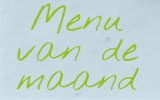 Glutenvrij menu van de maand maart