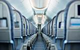 Oorpijn in het vliegtuig