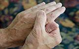 Oefenen bij een beperkte hand- of armfunctie